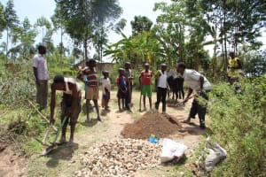 The Water Project: Mayuge Community, Ucheka Spring -  Community Participartion