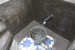 The Water Project: Makale Community, Kwalukhayiro Spring -  Water Flowing