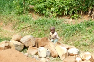 The Water Project: Khaunga A Community, Murutu Spring -  This Young One Became A Source Of Strength