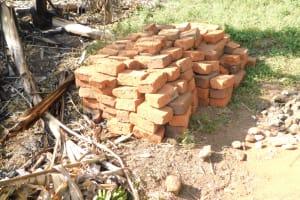 The Water Project: Khaunga A Community, Murutu Spring -  Construction Materials