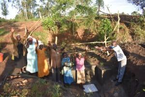 The Water Project: Khaunga A Community, Murutu Spring -  Handing Over The Spring To The Community