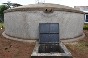 The Water Project: Gimarakwa Primary School -  Completed Rain Tank