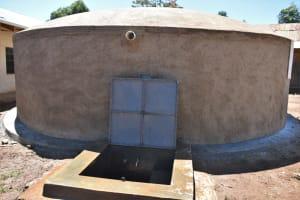The Water Project: Saosi Primary School -  Complete Rain Tank