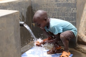 The Water Project: Wepika Community, Musa Mmasi Shikwe Spring -  Clean Water Is Everything