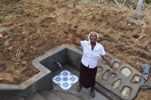 The Water Project: Wepika Community, Musa Mmasi Shikwe Spring -  Finally Clean Water