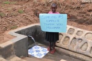 The Water Project: Wepika Community, Musa Mmasi Shikwe Spring -  Grateful