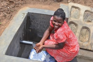 The Water Project: Wepika Community, Musa Mmasi Shikwe Spring -  Happy Day