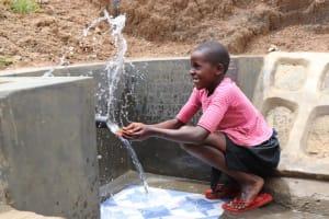 The Water Project: Wepika Community, Musa Mmasi Shikwe Spring -  Making A Splash