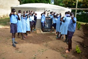 The Water Project: Isango Primary School -  Cheers And Thank You Carolyn