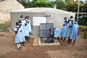 The Water Project: Isango Primary School -  Thumbs Up At Isango Primary School