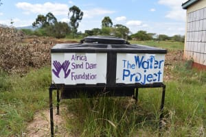 The Water Project: Kavyuni Salvation Army Primary School -  Handwashing Station