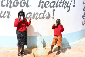 The Water Project: Kavyuni Salvation Army Primary School -  Thumbs Up