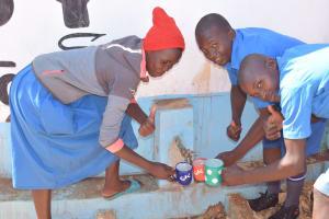 The Water Project: Kamuwongo Primary School -  Tumbs Up