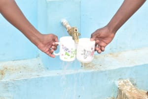 The Water Project: St. Paul Waita Secondary School -  Filling Up