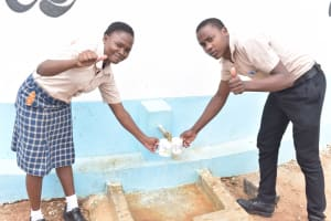 The Water Project: St. Paul Waita Secondary School -  Thumbs Up