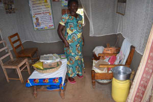 The Water Project: Nangurunya Community, Robert Musali Spring -  Agnes Inside Her Living Room