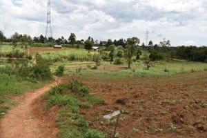 The Water Project: Nangurunya Community, Robert Musali Spring -  Landscape