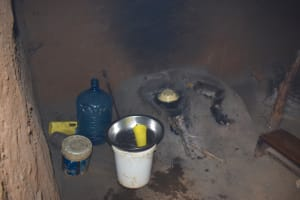 The Water Project: Nangurunya Community, Robert Musali Spring -  Fireplace For Cooking Inside Kitchen