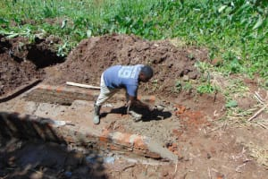 The Water Project: Shamoni Community, Shatuma Spring -  Stair Construction