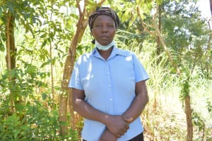 The Water Project: Shamoni Community, Shatuma Spring -  Florence Naliaka