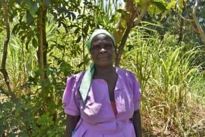 The Water Project: Shamoni Community, Shatuma Spring -  Fridah Naliaka