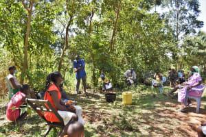The Water Project: Shamoni Community, Shatuma Spring -  Handwashing Training