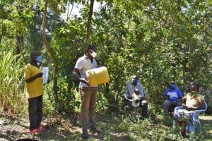 The Water Project: Shamoni Community, Shatuma Spring -  Training In Session