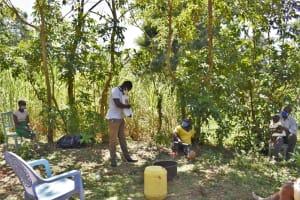 The Water Project: Shamoni Community, Shatuma Spring -  Training On Dental Hygiene