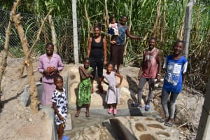 The Water Project: Bukhakunga Community, Maikuva Spring -  A Happy Community