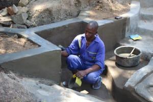 The Water Project: Litinye Community, Vuyanzi Spring -  Plaster Works