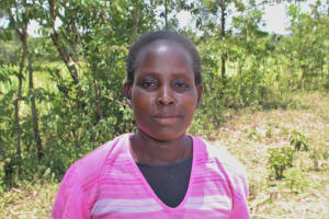The Water Project: Litinye Community, Vuyanzi Spring -  Margaret Mapato