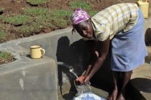 The Water Project: Litinye Community, Vuyanzi Spring -  Water Celebrations
