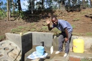 The Water Project: Litinye Community, Vuyanzi Spring -  A Wave Of Thanks
