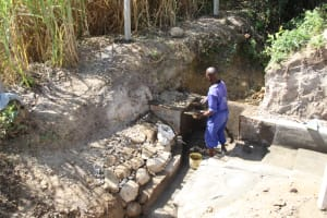 The Water Project: Mayuge Community, Ucheka Spring -  Plaster Works