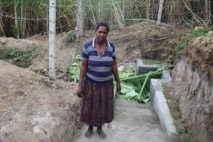 The Water Project: Mayuge Community, Ucheka Spring -  Christine Namanda