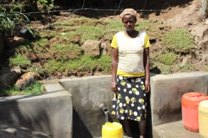 The Water Project: Mayuge Community, Ucheka Spring -  Posing At The Spring