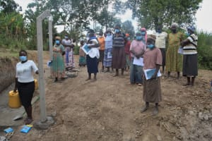The Water Project: Mayuge Community, Ucheka Spring -  Site Management Training At The Spring