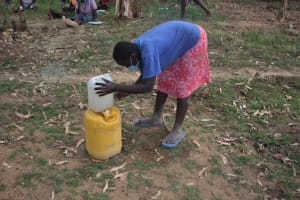 The Water Project: Mayuge Community, Ucheka Spring -  Tippy Tap Making