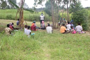 The Water Project: Mayuge Community, Ucheka Spring -  Women At The Training