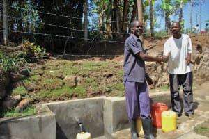 The Water Project: Mayuge Community, Ucheka Spring -  Unity Over Clean Water