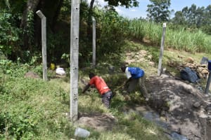 The Water Project: Makale Community, Kwalukhayiro Spring -  Site Clearance