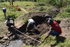 The Water Project: Makale Community, Kwalukhayiro Spring -  Site Measurement