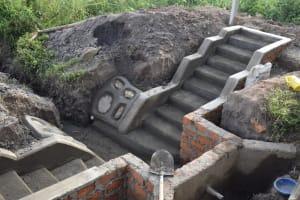 The Water Project: Makale Community, Kwalukhayiro Spring -  Stone Pitching Works