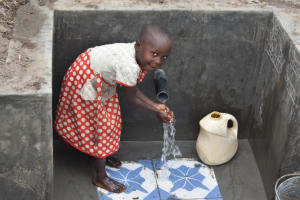 The Water Project: Makale Community, Kwalukhayiro Spring -  Clean Water Is Everything
