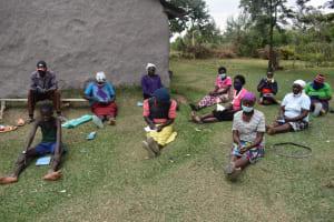 The Water Project: Makale Community, Kwalukhayiro Spring -  Community Members At The Training