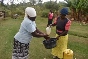 The Water Project: Makale Community, Kwalukhayiro Spring -  Handwashing Training