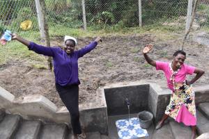 The Water Project: Makale Community, Kwalukhayiro Spring -  Joy Of Clean Water