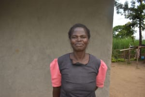 The Water Project: Makale Community, Kwalukhayiro Spring -  Water User Committee Chair Jane Nawire