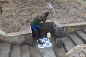 The Water Project: Makale Community, Kwalukhayiro Spring -  Water Celebrations