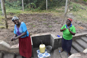 The Water Project: Makale Community, Kwalukhayiro Spring -  Singing At The Spring